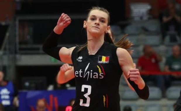 La Belgique féminine connaît son programme en Ligue des Nations 2021