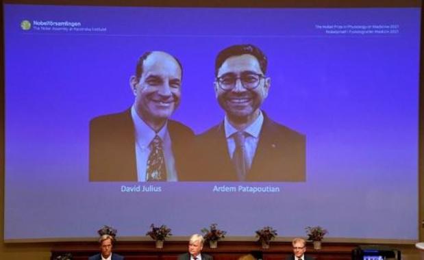Nobelprijs voor Geneeskunde gaat naar David Julius en Ardem Patapoutian
