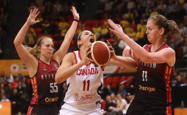 OKT basket (v) - Canada plaatst zich voor Olympische Spelen