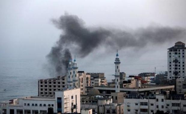 Twee Palestijnen gedood bij Israëlische luchtaanvallen op Gaza