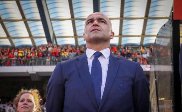 La sélection des Diables Rouges pour les trois premières rencontres de qualification au Mondial 2022