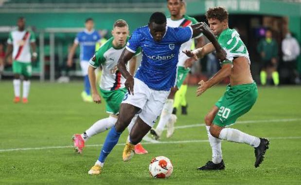 Paul Onuachu offre la victoire à Genk dans les arrêts de jeu au Rapid Vienne (0-1)