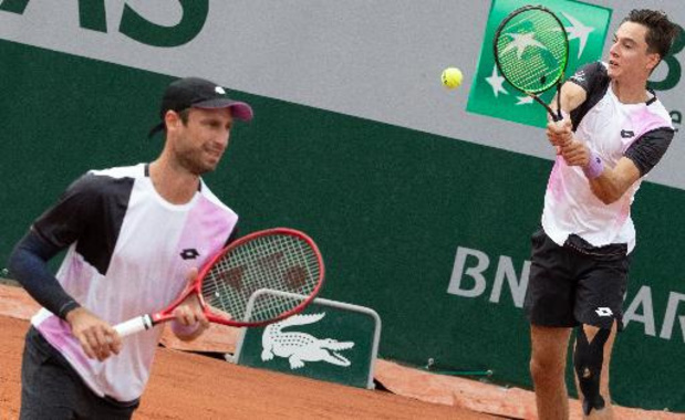 Roland Garros - Gillé en Vliegen stranden in derde ronde