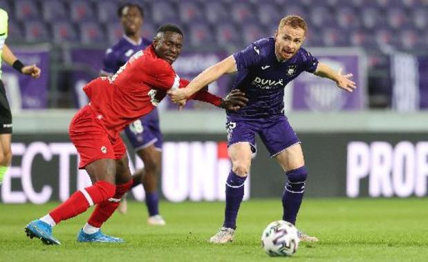 Adrien Trebel geweerd uit A-kern Anderlecht