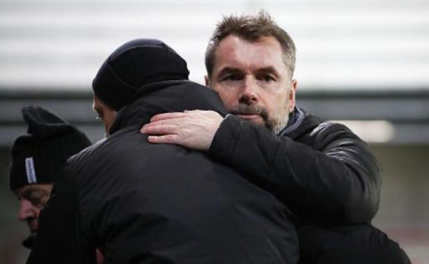 Jupiler Pro League - Moeskroen stopt samenwerking met Bernd Hollerbach