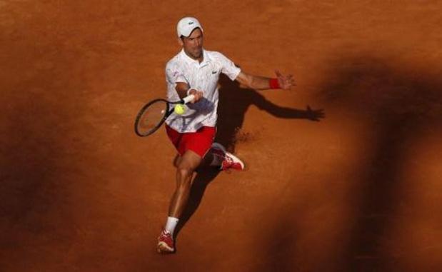 Novak Djokovic plaatst zich als eerste voor de finale
