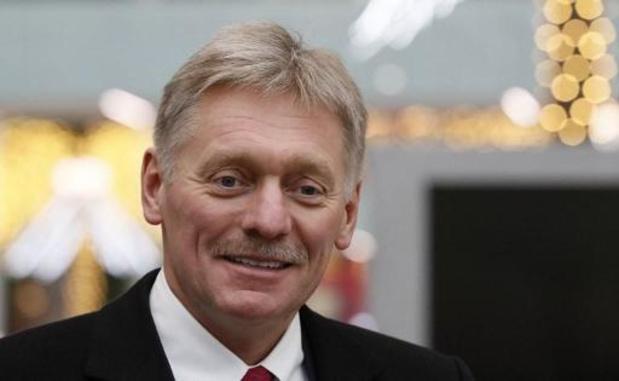 Woordvoerder Russische president is besmet