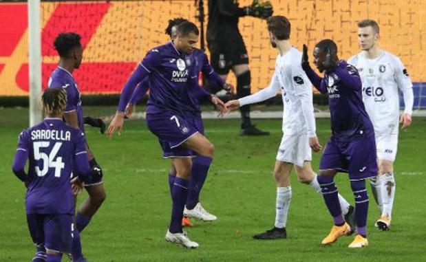 Jupiler Pro League - Anderlecht bat le Beerschot et se hisse dans le top 4