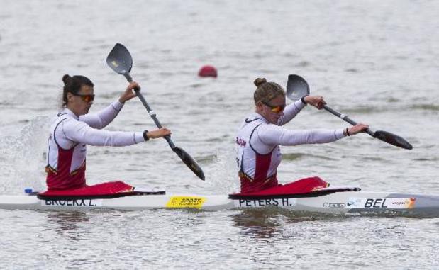 Artuur Peters et le duo féminin Peters-Broekx en demi-finales à Szeged