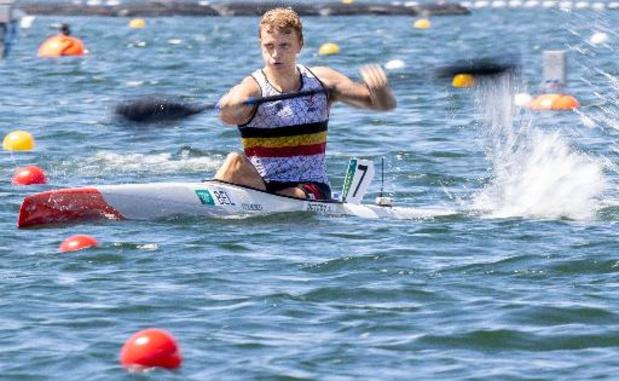 OS 2020 - Artuur Peters doet met tweede plaats in B-finale net beter dan in Rio