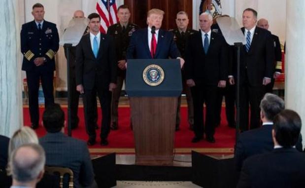 VN zien de toespraak van Trump als een teken van de-escalatie