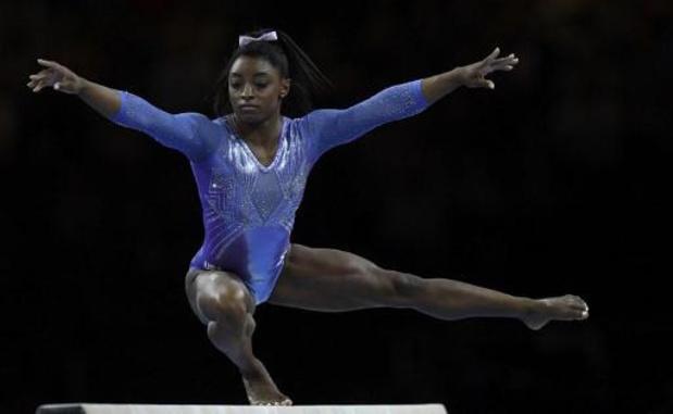 Titrée à la poutre, Simone Biles s'offre le record de médailles mondiales, 24