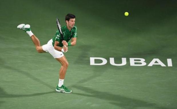 Novak Djokovic sauve 3 balles de match avant de battre Gaël Monfils en demi-finale à Dubaï