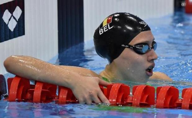Flanders Qualification Meet - Jade Smits améliore son record de Belgique du 50m dos