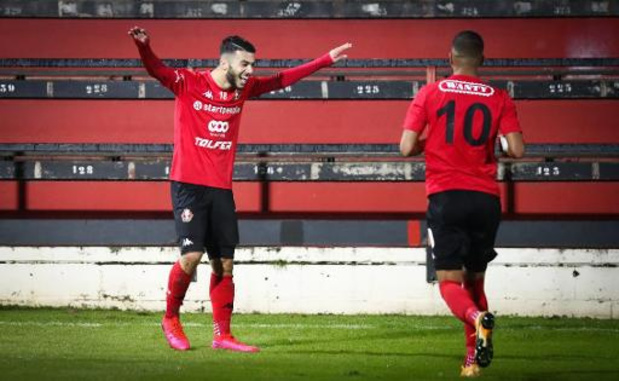 1B Pro League - Leider Seraing blikt Brugse beloften met 6-1 in