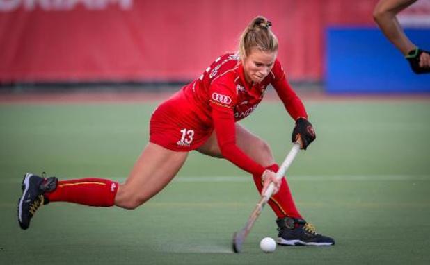 Belgische hockeyvrouwen sluiten stage af met gelijkspel tegen Spanje