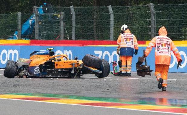 F1 - GP de Belgique - Lando Norris pourra prendre le départ dimanche