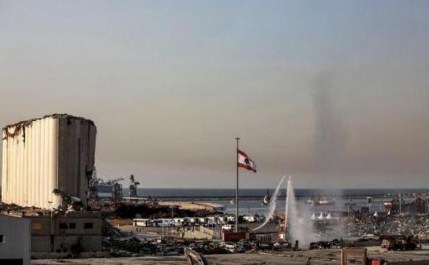 Kitir bezoekt haven Beiroet en ontmoet familie van Belgisch slachtoffer