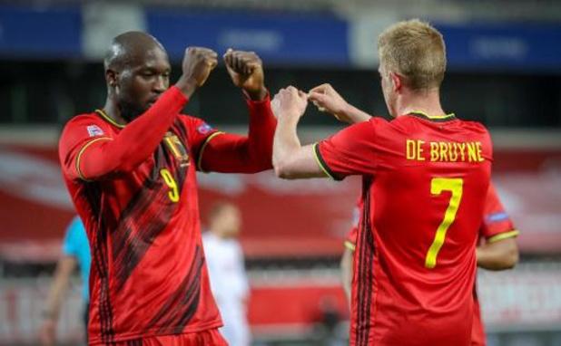 Diables Rouges - Les Diables battent le Danemark 4-2 et rejoignent le Final Four de la Ligue des Nations
