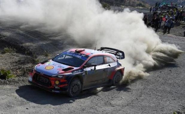 """WRC - Elfyn Evans plus rapide de Thierry Neuville dans le """"shakedown"""""""