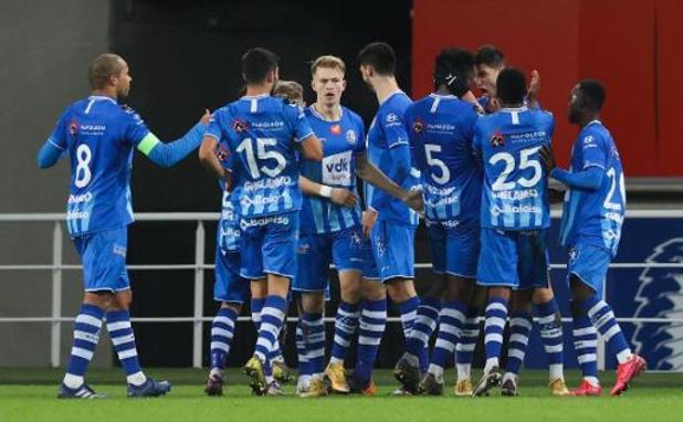 Jupiler Pro League - AA Gent knoopt onder Vanhaezebrouck weer aan met de zege
