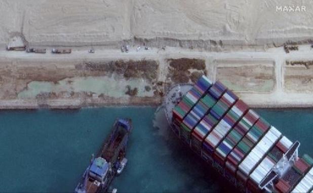 Canal de Suez - Course contre la montre pour débloquer l'Ever Given