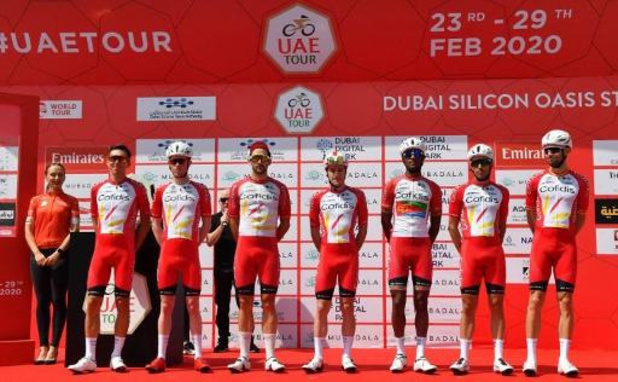Les équipes françaises Cofidis et Groupama-FDJ ne sont plus en quarantaine aux Emirats