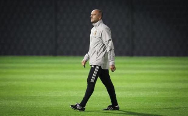 """Martinez """"optimiste"""" quant à la présence de Lukaku, même s'il y a """"toujours un doute"""""""