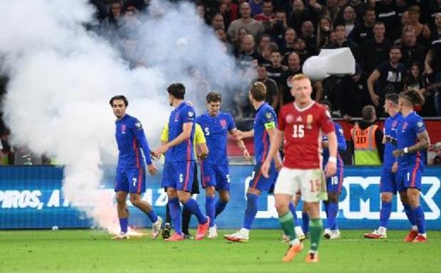 """Hongaarse voetbalbond neemt het op voor """"meerderheid supporters"""" na racisme tegen Engeland"""
