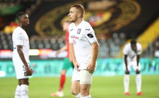 Adrien Trebel a repris les entraînements à Anderlecht