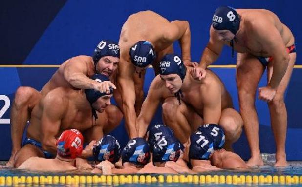 Servische mannen pakken waterpologoud, de laatste gouden medaille op deze Spelen