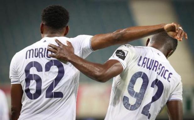 Jupiler Pro League - Gehavend AA Gent sprokkelt in slotfase nog een punt tegen Anderlecht