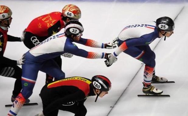 Euro de shorttrack - Stijn Desmet médaille d'argent du 3000 m