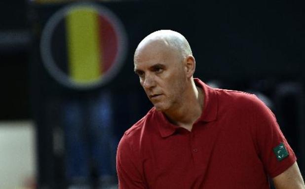 "Coupe Davis - Johan Van Herck: ""On va prendre match par match, balle par balle"""