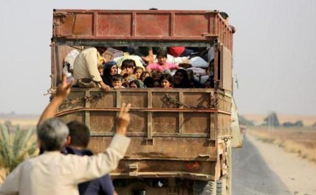 Koerden vragen humanitaire corridor om burgers te evacueren in Syrië
