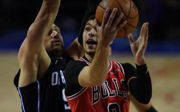NBA - Zach LaVine (Chicago Bulls) renverse les Hornets avec 13 tirs à 3 points