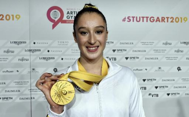 Mondiaux de gymnastique - Nina Derwael va faire l'impasse sur la finale au sol