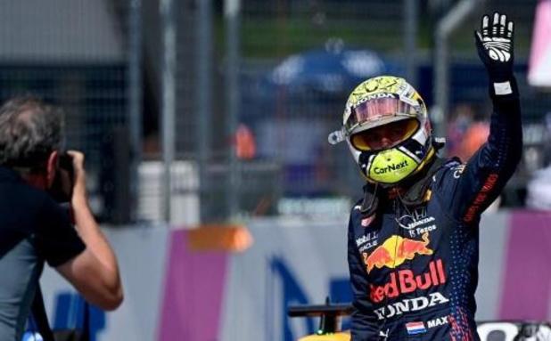 F1 - GP d'Autriche: Max Verstappen décroche sa 4e pole-position de la saison