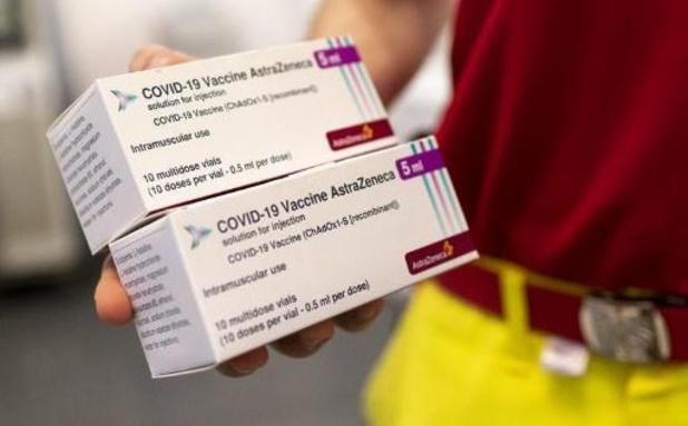 AstraZeneca-vaccin voorlopig enkel voor 56-plussers