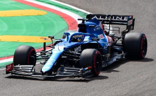 F1 - GP d'Emilie-Romagne - Räikkönen pénalisé, Alonso décroche son premier point depuis son retour en F1