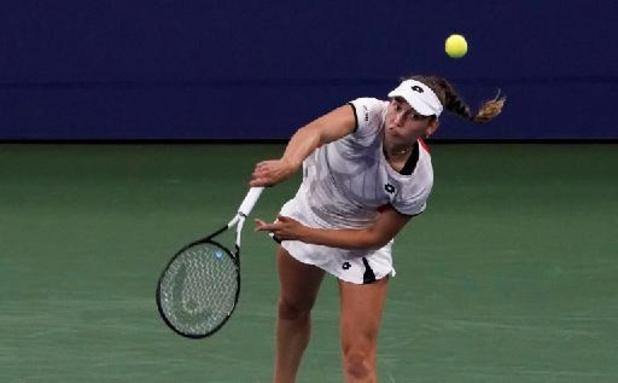 WTA Indian Wells - Elise Mertens éliminée dès le second tour par l'Italienne Jasmine Paolini