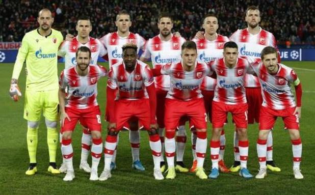 Coronavirus - L'Etoile Rouge de Belgrade, premier club sacré champion depuis la reprise des championnats