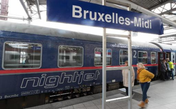 Le train de nuit entre Vienne et Bruxelles suspendu pendant un mois