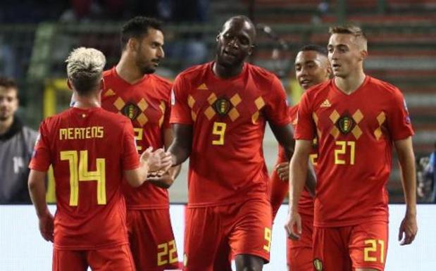 Minstens 5.000 tickets per EK-match van België gereserveerd voor Belgische fans