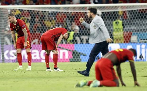 Euro 2020 - La Belgique, mise en échec par le collectif italien, prend la porte en quarts de finale