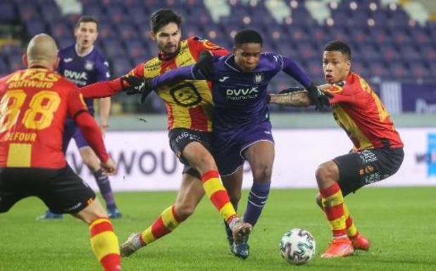 Jupiler Pro League - Anderlecht signe son 13e partage de la saison contre Malines