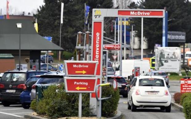 McDonald's opent opnieuw drive-ins