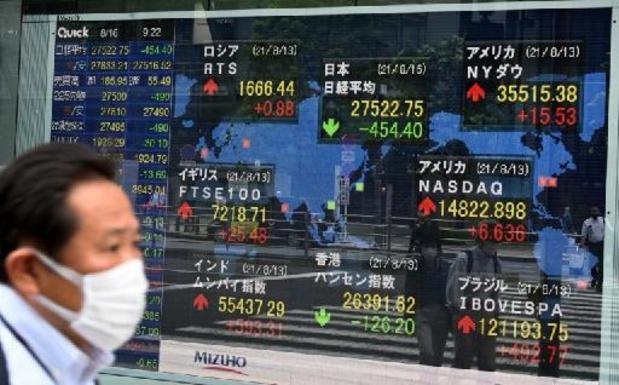 La Bourse de Tokyo clôture une nouvelle séance pleine d'entrain