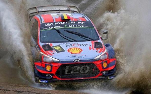 WRC - Rallye de Grande-Bretagne: Tänak termine la journée devant Neuville et Ogier