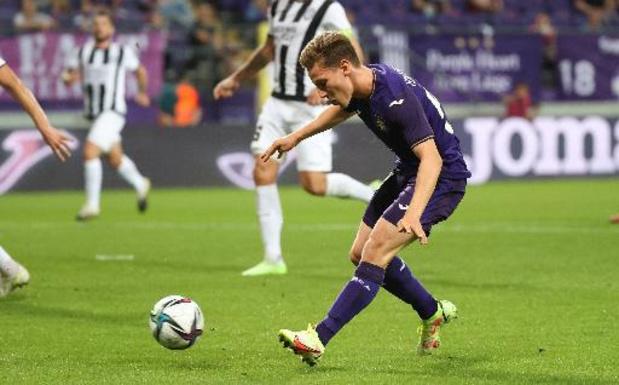 Conference League - Anderlecht assure l'essentiel contre Laçi se qualifie pour les barrages